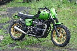 Triumph Power Scrambler