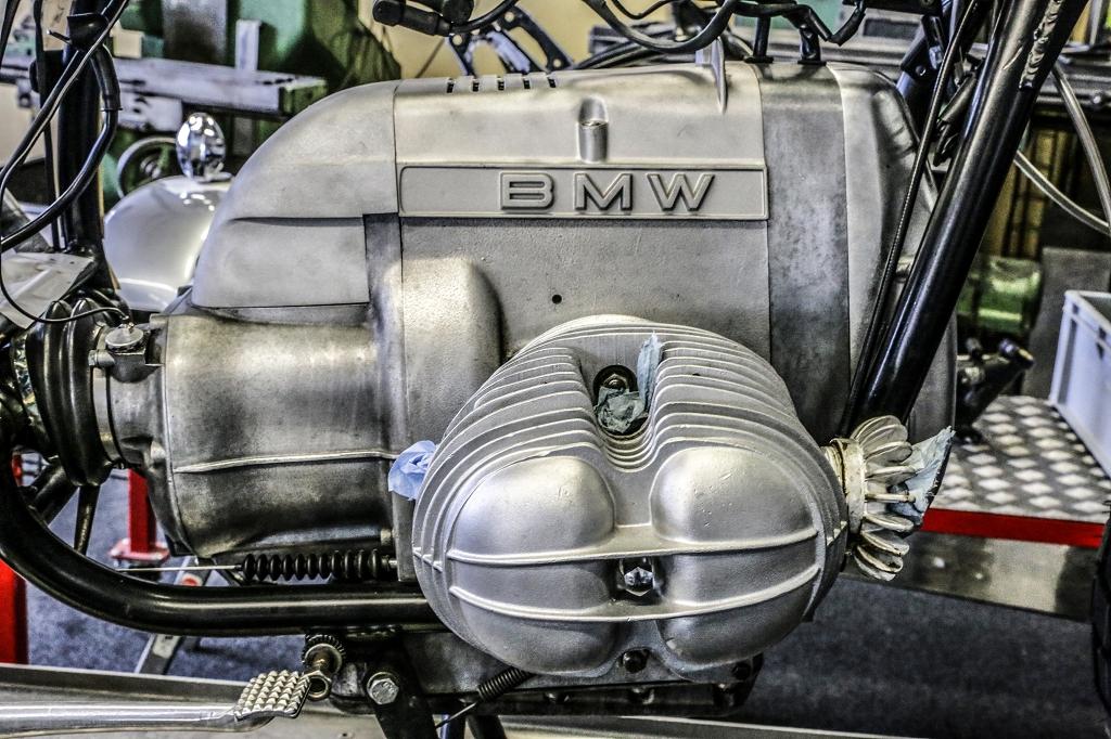 BMW R65 R80 R100 aluminium cast bonnet short